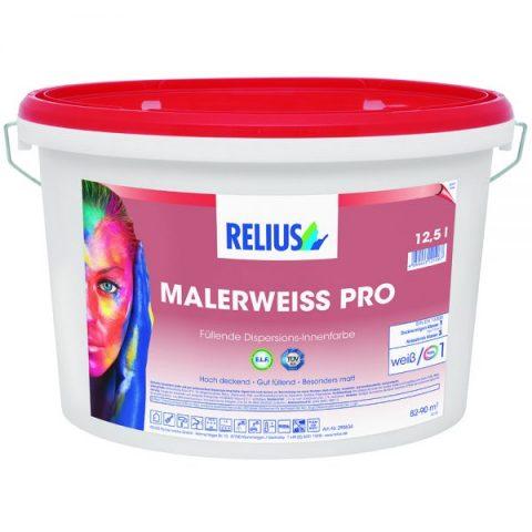 Relius Malerweiss PRO dispersioonvärv 12,5L