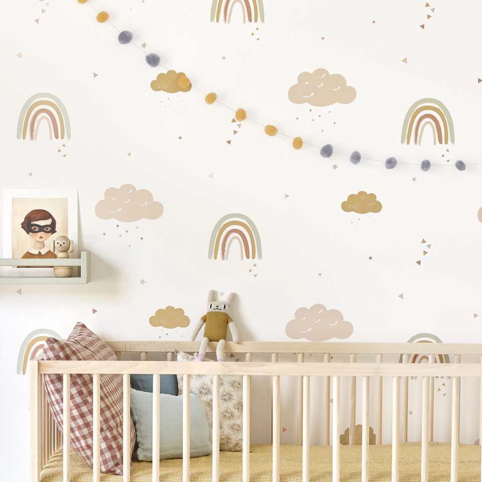 Hibou Home_Rainbows wallpaper_HH01601_lifestyle image 2