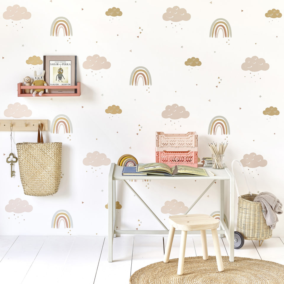 Hibou Home_Rainbows wallpaper_HH01601_lifestyle image 3