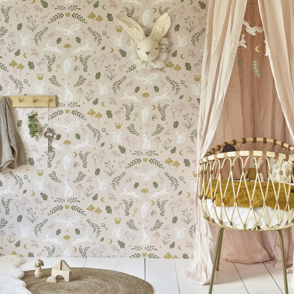 Hibou Home_Woodland Wonders wallpaper_HH01501_lifestyle image 1
