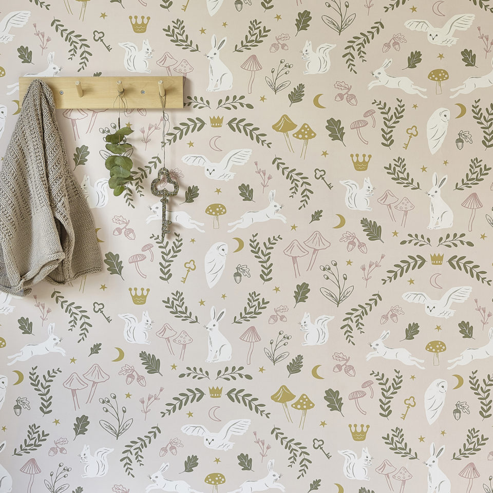 Hibou Home_Woodland Wonders wallpaper_HH01501_lifestyle image 4